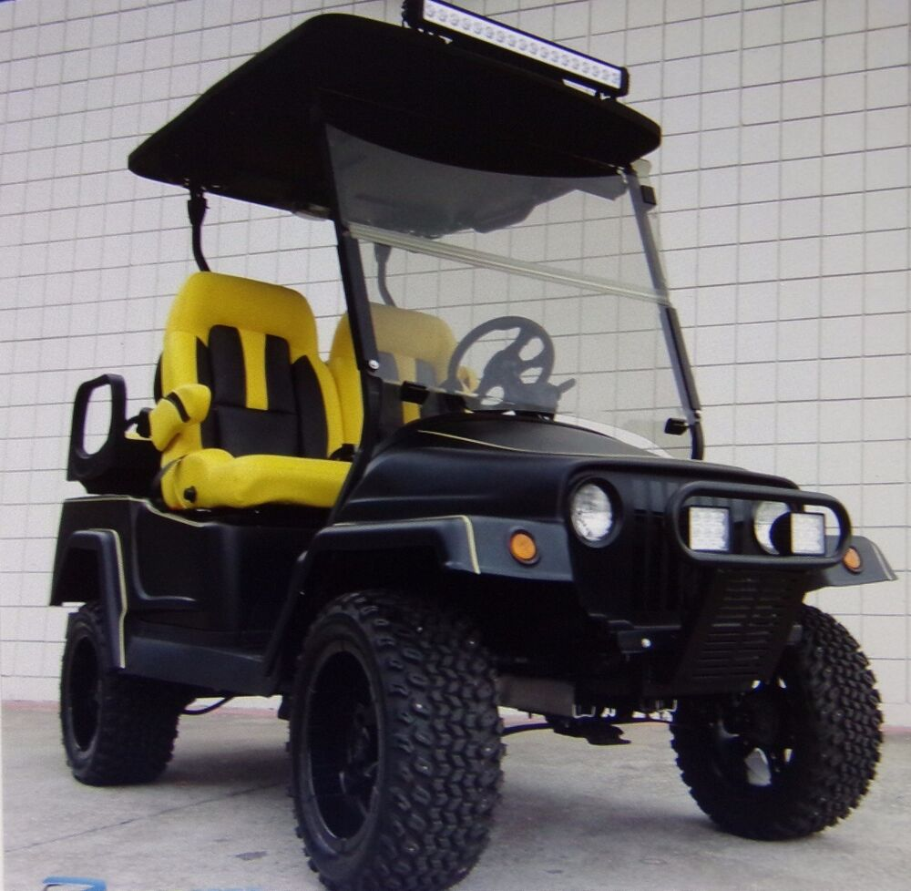 Build Your Own Golf Cart Kit >> CUSTOM CLUB CAR GOLF CART BODY KIT FRONT AND REAR LIBERATOR | eBay