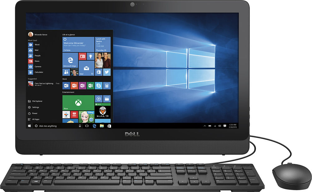 dell - inspiron 19 5 u0026quot  touch-screen all-in-one