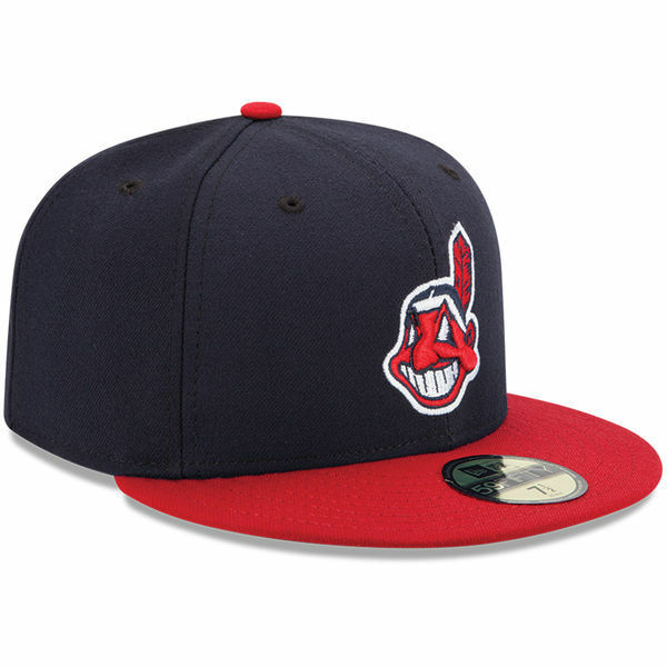 cleveland indians home new era 5950 on field cap mlb