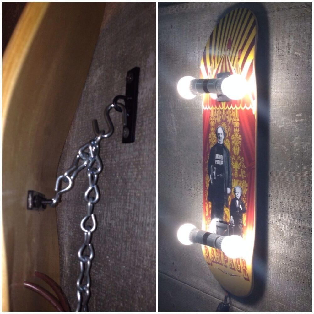 Skateboard Deck Display Wall Mount Or Ceiling Hanger