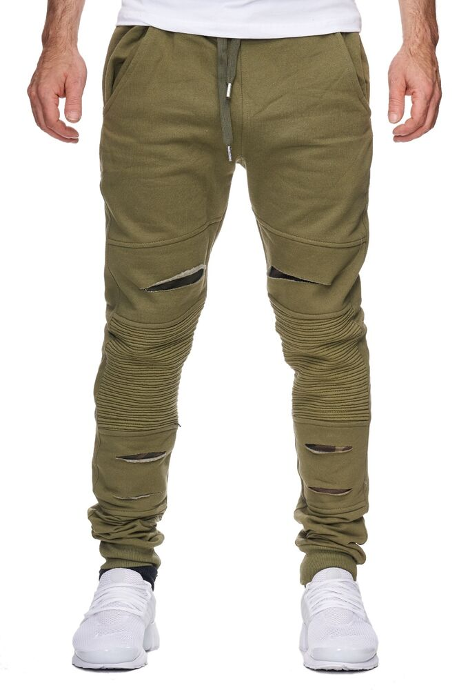 herren sweat pant used jogging army cargo hose milit r pant fit chino cargo gr n ebay. Black Bedroom Furniture Sets. Home Design Ideas