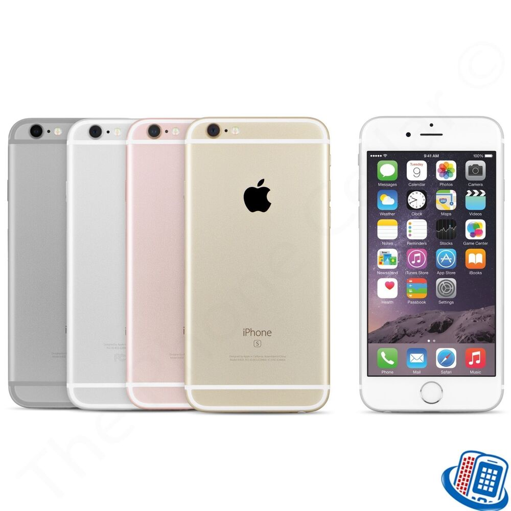 at t apple iphone 6s plus 5 5 a1634 16gb 64gb 128gb. Black Bedroom Furniture Sets. Home Design Ideas