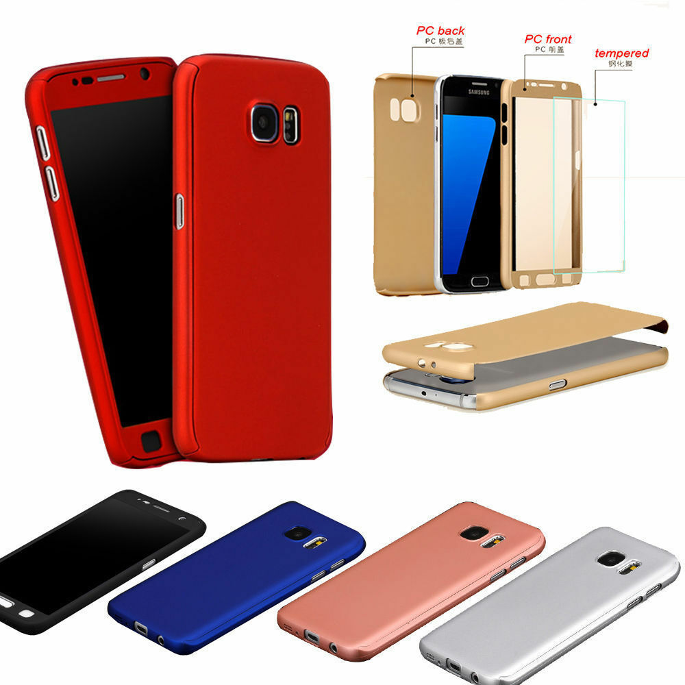 360 Front Back Tempered Glass Hard Case Cover For Samsung Galaxy Casing Handphone Series Xiaomi Redmi Note 2 Golden Free J7 J5 J1 S6 7 Ebay