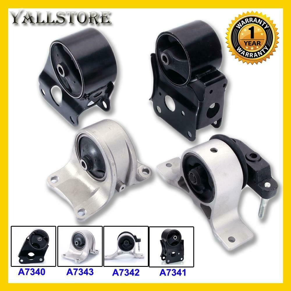 engine motor transmission mount kit fits 02 06 altima 2 5l. Black Bedroom Furniture Sets. Home Design Ideas