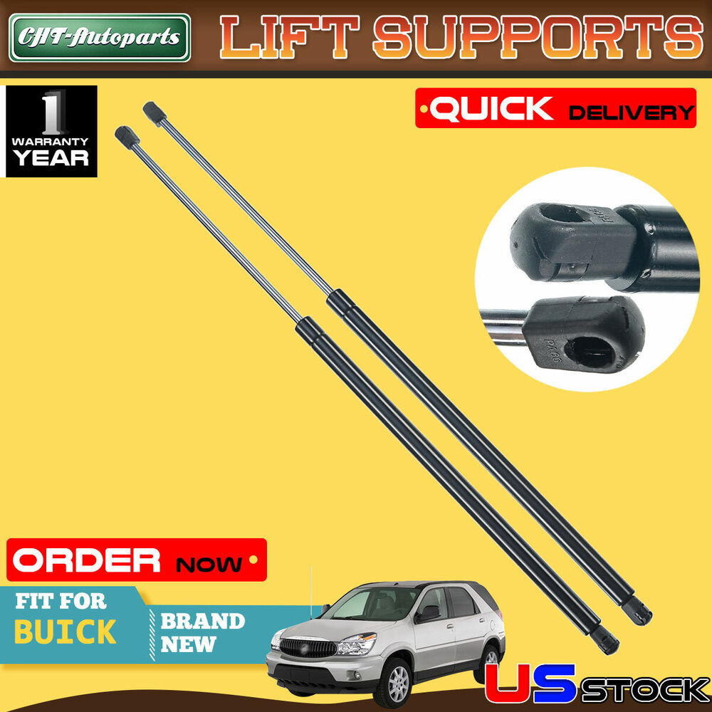 2x tailgate rear hatch lift supports struts for buick