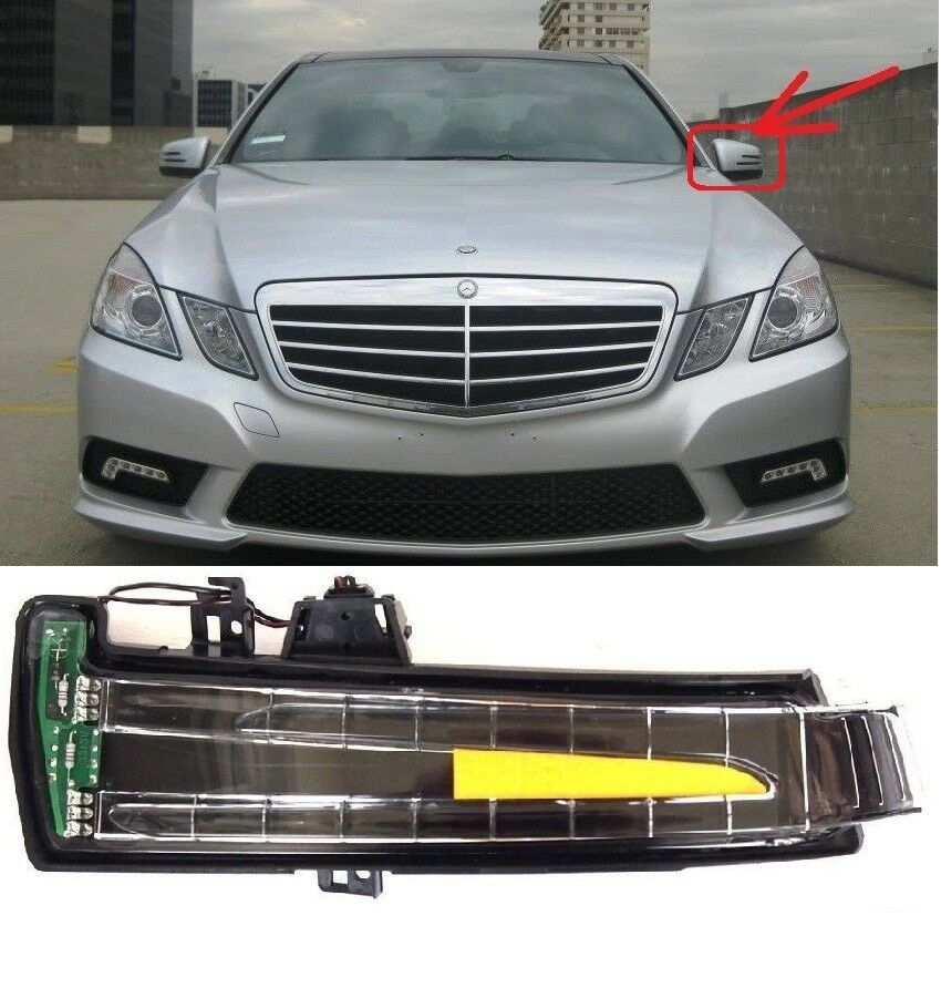Mercedes e w212 w204 mirror indicator turn signal blinker for Mercedes benz side mirror turn signal