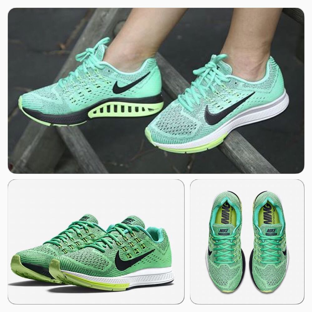 new arrival a6555 2aef0 ... BNIB Nike UK 3.5 Womens Air ZOOM Structure 18 Trainers Run Shoes  683737-303 ...
