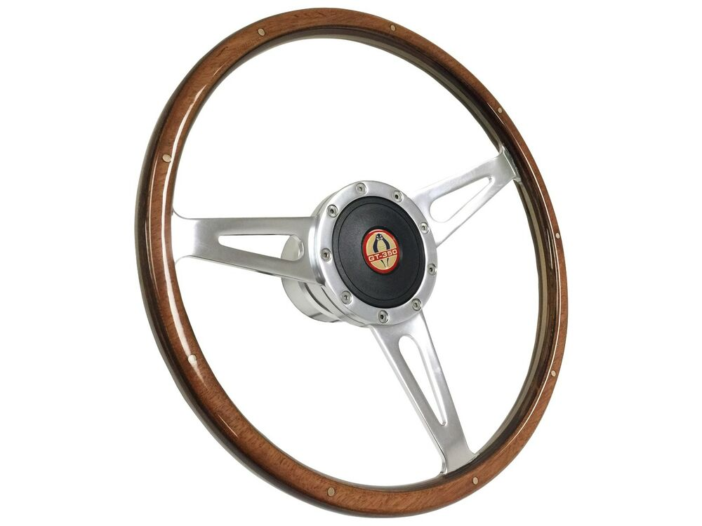 1964 1966 ford mustang shelby style steering wheel kit w. Black Bedroom Furniture Sets. Home Design Ideas