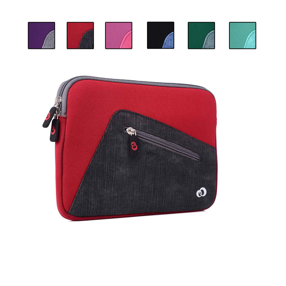 Neoprene sleeve cover case w front pocket fits apple ipad for Housse neoprene ipad air