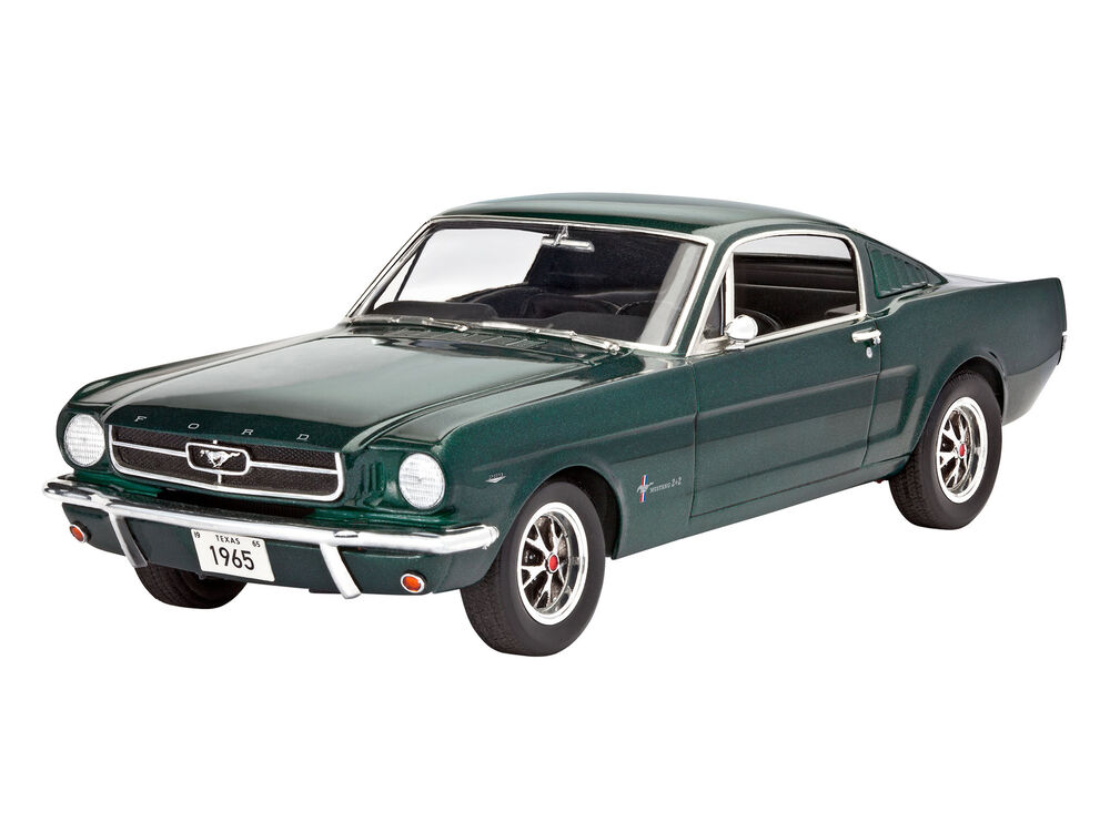 revell 07065 1 24 1965 ford mustang 2 2 fastback. Black Bedroom Furniture Sets. Home Design Ideas