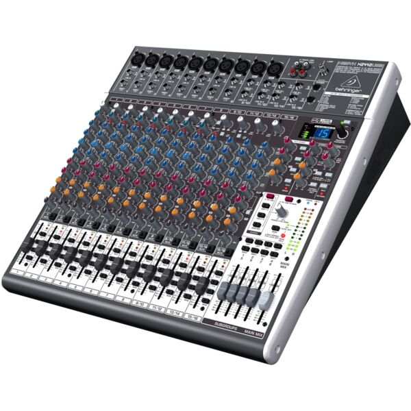 behringer xenyx x2442 24 channel live mixer mixing desk with usb audio interface ebay. Black Bedroom Furniture Sets. Home Design Ideas