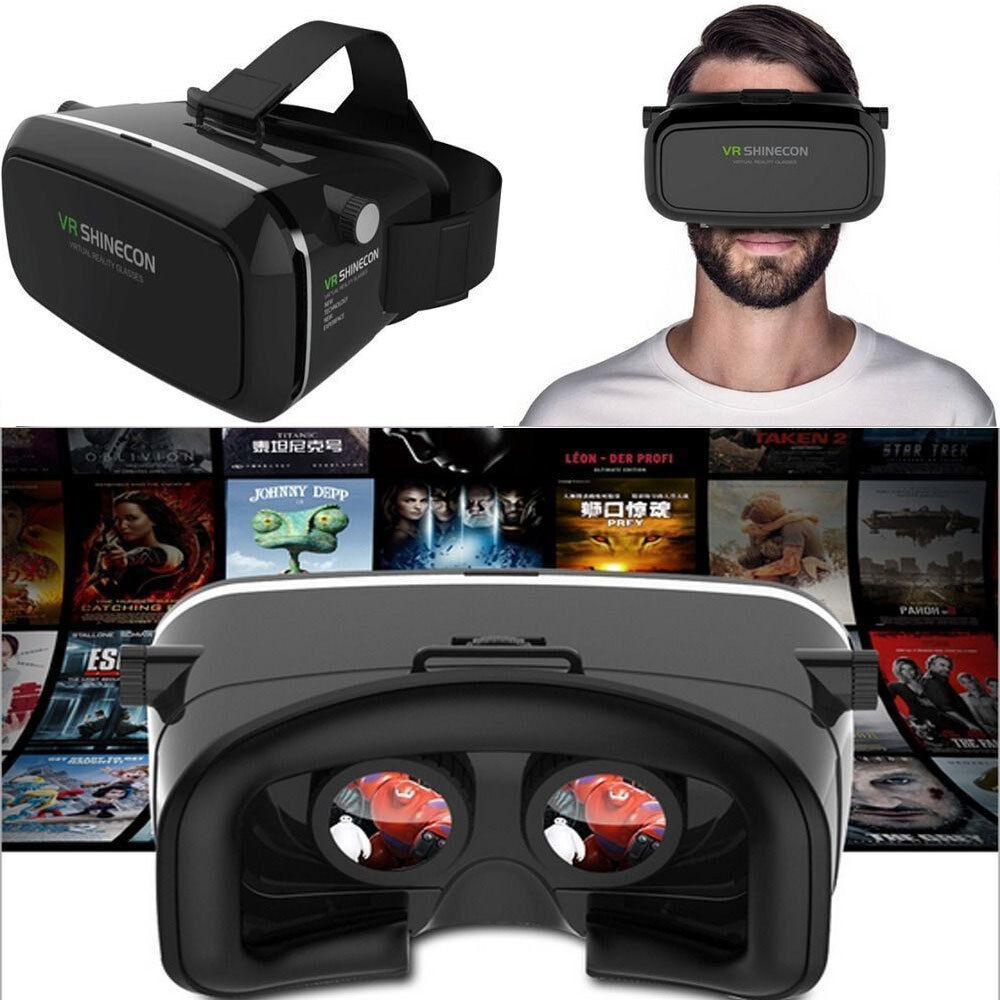 virtual reality iphone shinecon 3d reality goggles vr glasses for iphone 13248