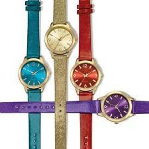 AVON SPARKLE STRAP PARTY WATCH - RED ONLY - NEW IN BOX!!  | eBay
