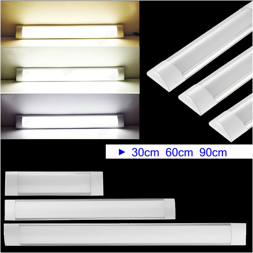 30cm 60cm 90cm =3FT LED Batten Linear Slimline Ceiling