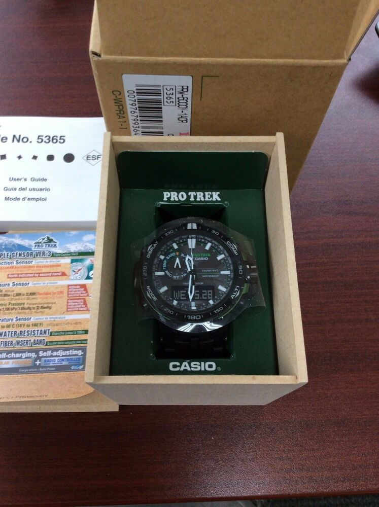 Casio Men's Protrek MB Ana-Digital Smart Triple Sensor ...