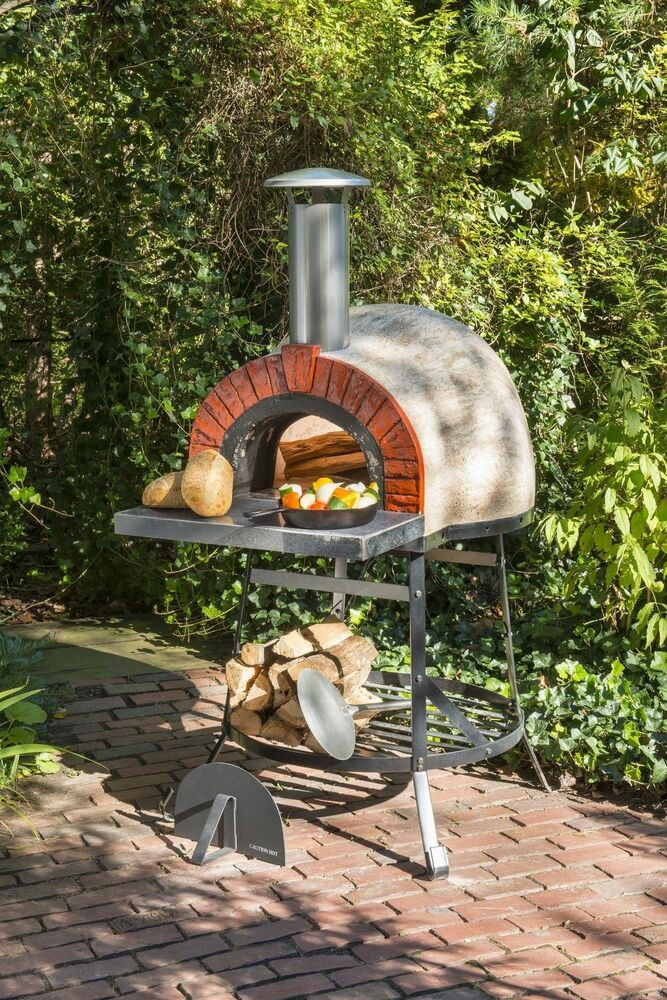 Rustic Natural Cedar Furniture Outdoor Wood Fired Oven ...