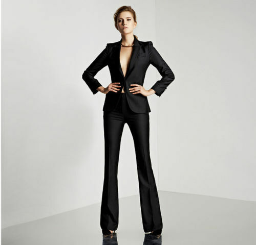 82003a59a92 Details about Womens Suits Blazer with Pants Women Business Suits Formal  Office Suits Work