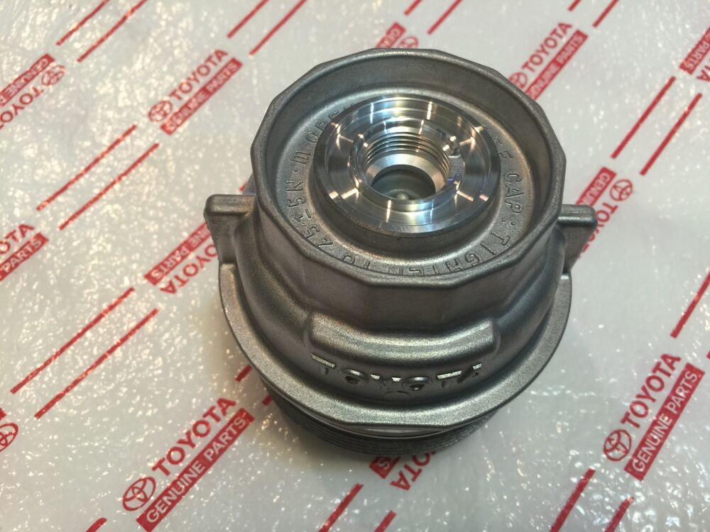 New Lexus Es300h Oil Filter Cover Cap Housing Oem Toyota