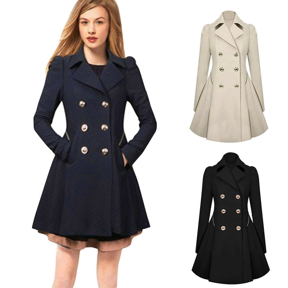 newest womens warm winter coat thick parka overcoat long. Black Bedroom Furniture Sets. Home Design Ideas
