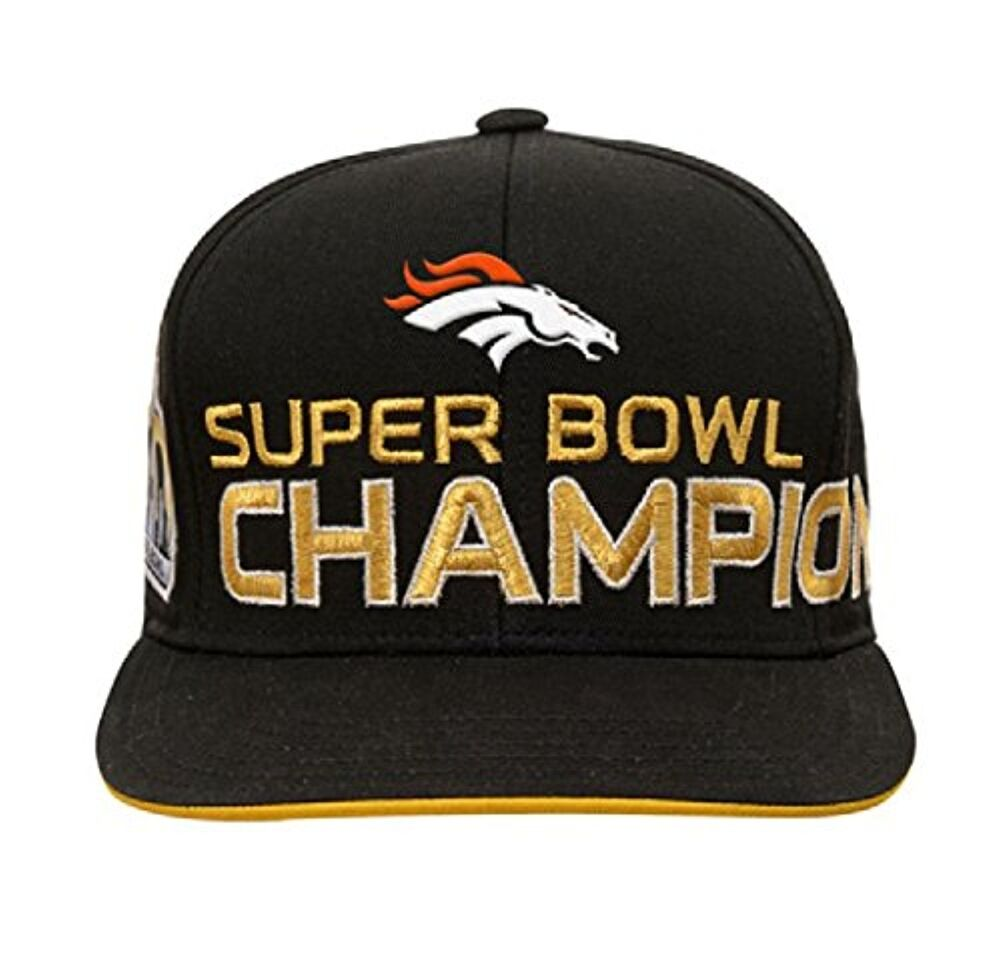 53ae3186d Denver Broncos NFL Super Bowl 50 Champions Youth Adjustable Strap Cap Hat