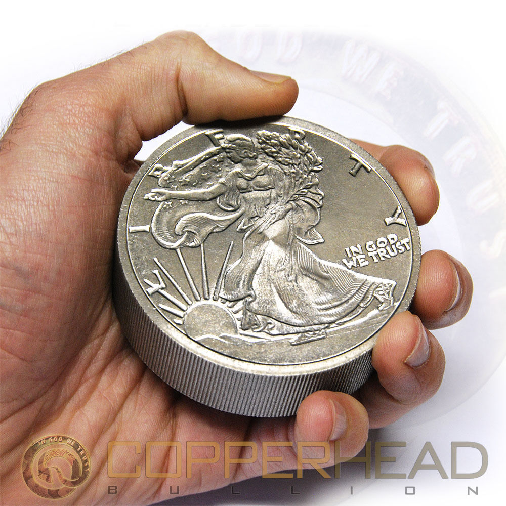 One Pound 16oz Titanium Coin Walking Liberty 996 Fine