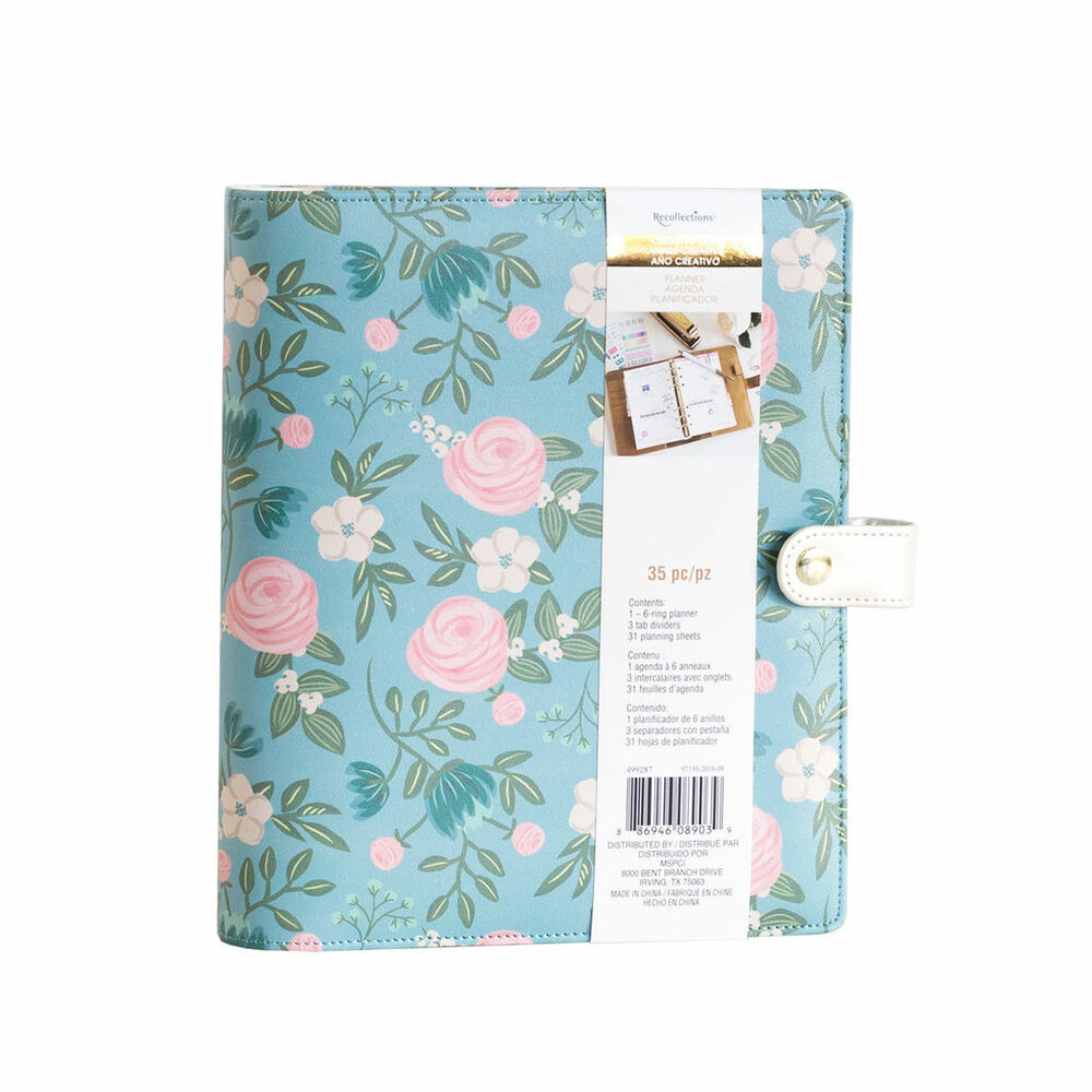 NEW Recollections Creative Year Floral A5 Planner Binder