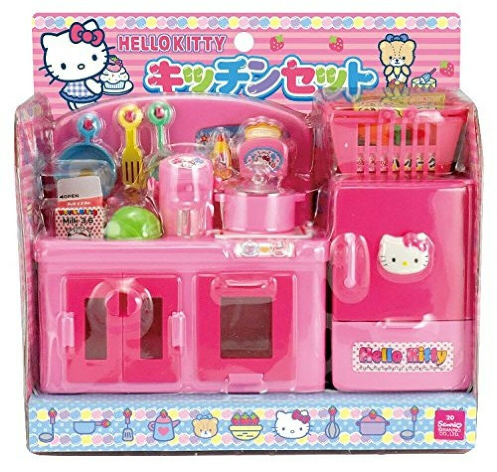 Hello Kitty Kitchen Accessories: Hello Kitty Kitchen Set Toy SANRIO