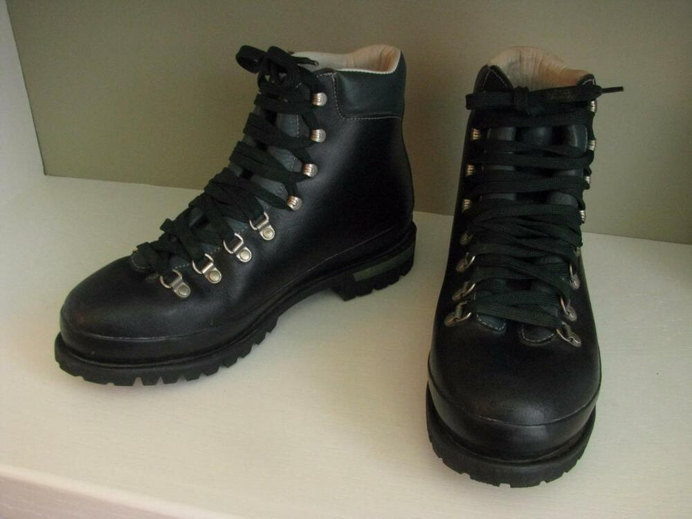 vintage raichle mens size 115 m leather extreme hiking