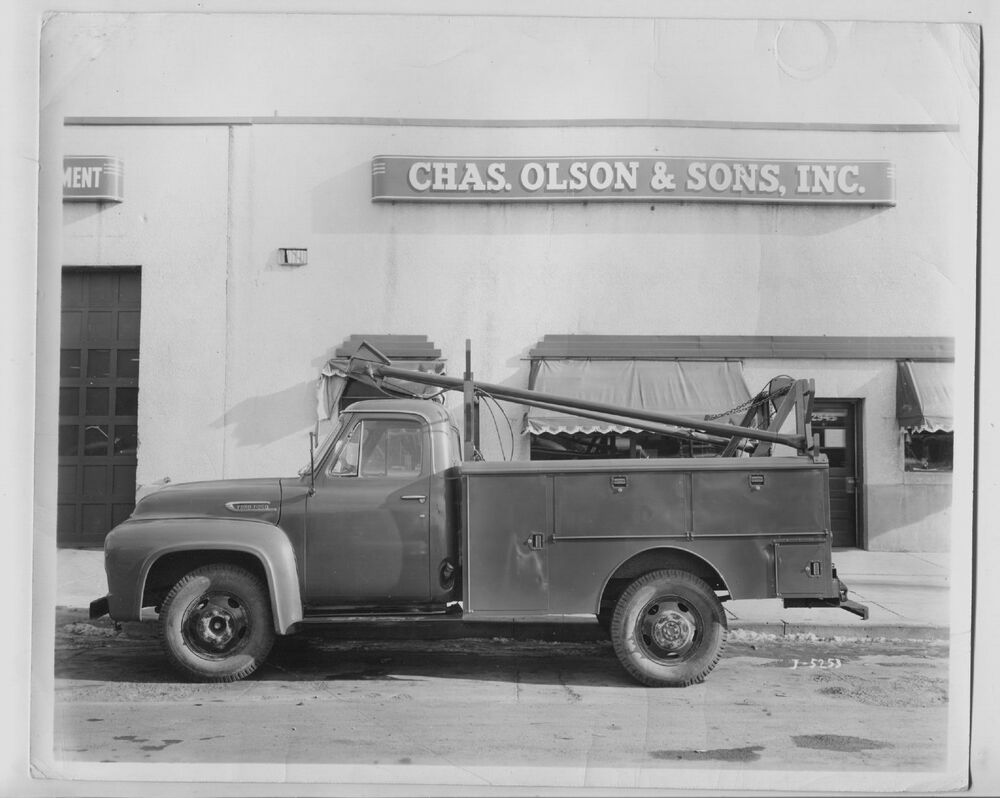 Old 1950's FORD F-350 pickup Truck photo 8x10 photo Phone ...