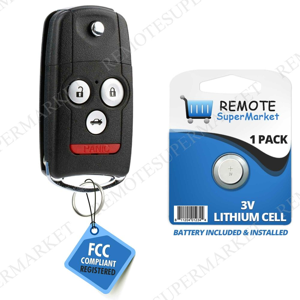 Acura Tl Battery: Replacement For Acura 2007-2008 TL Remote Car Flip Key Fob
