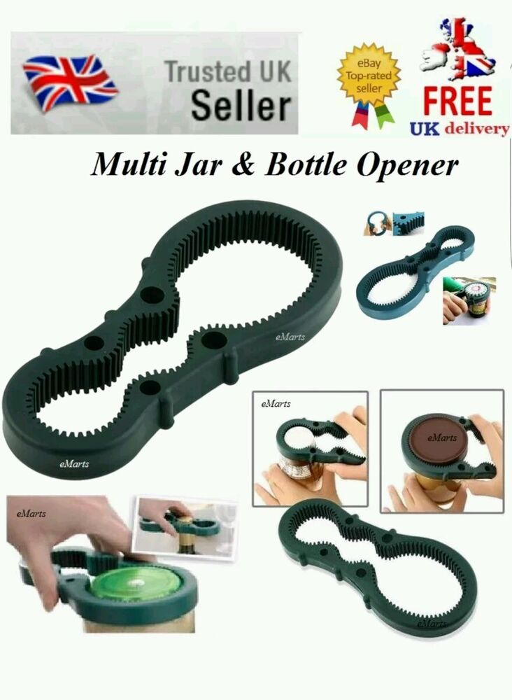 new multi use hand grip jar bottle opener firm grip twist action elderly aid ebay. Black Bedroom Furniture Sets. Home Design Ideas