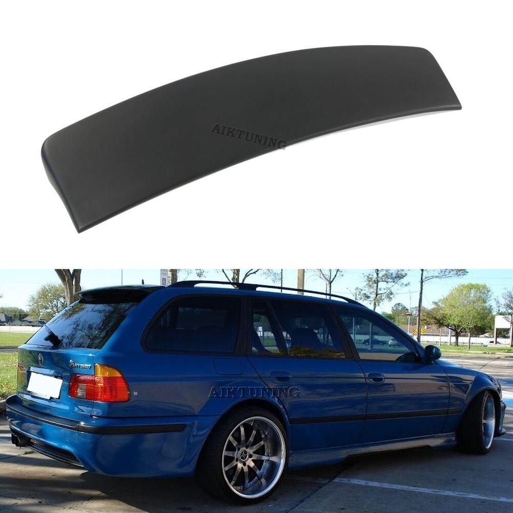 bmw e39 touring estate wagon rear tailgate boot lid trunk spoiler ducktail wing ebay. Black Bedroom Furniture Sets. Home Design Ideas