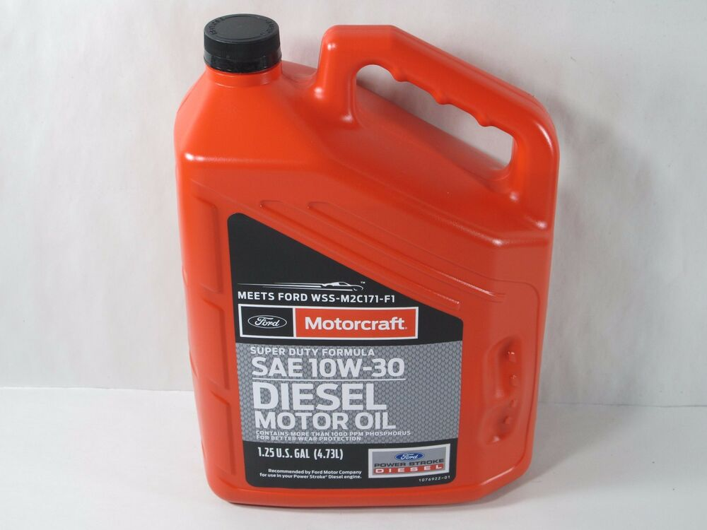Motorcraft xo10w305qsd universal sae 10w 30 diesel for Top rated motor oil synthetic