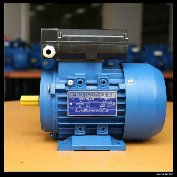 0 37kw 0 5hp 1400rpm Electric Motor Single