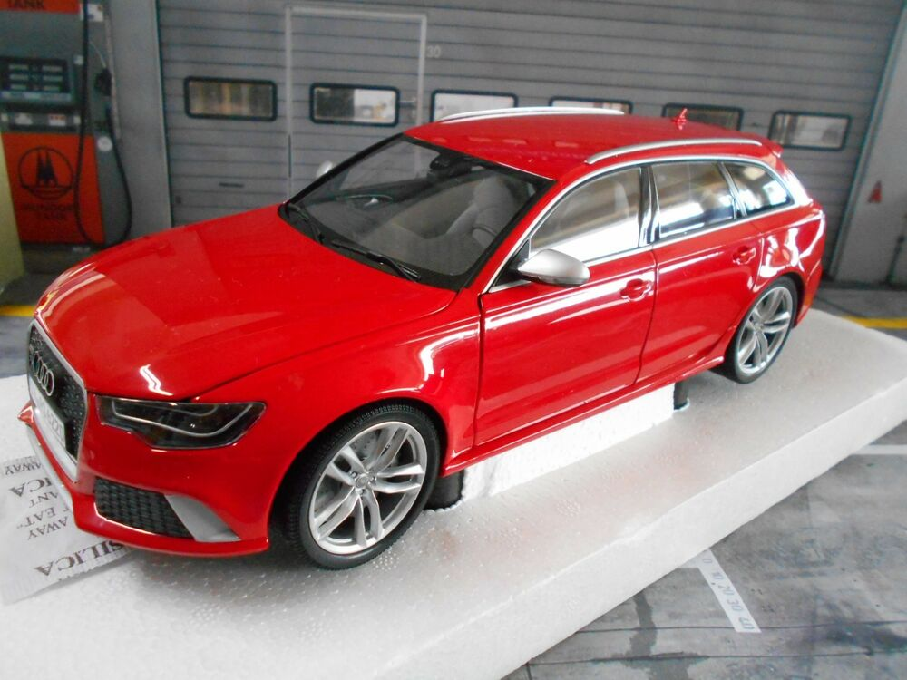 audi a6 rs6 avant kombi quattro red rot 2014 c7 pma minichamps s preis 1 18 ebay. Black Bedroom Furniture Sets. Home Design Ideas