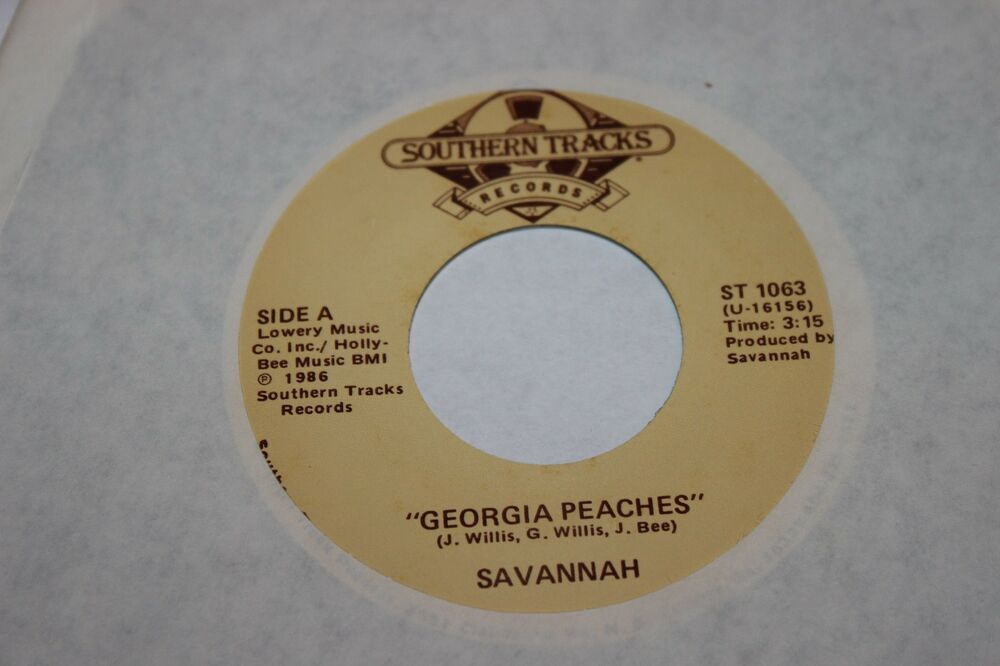 Savannah Georgia Peaches b/w Drinking It Over 45 From Co Vault Unopened Box  NM * | eBay