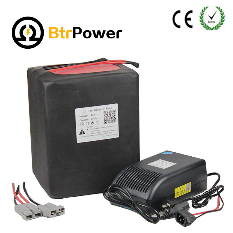 Lithium Ion Battery Pack 72v 30ah Rechargable L...