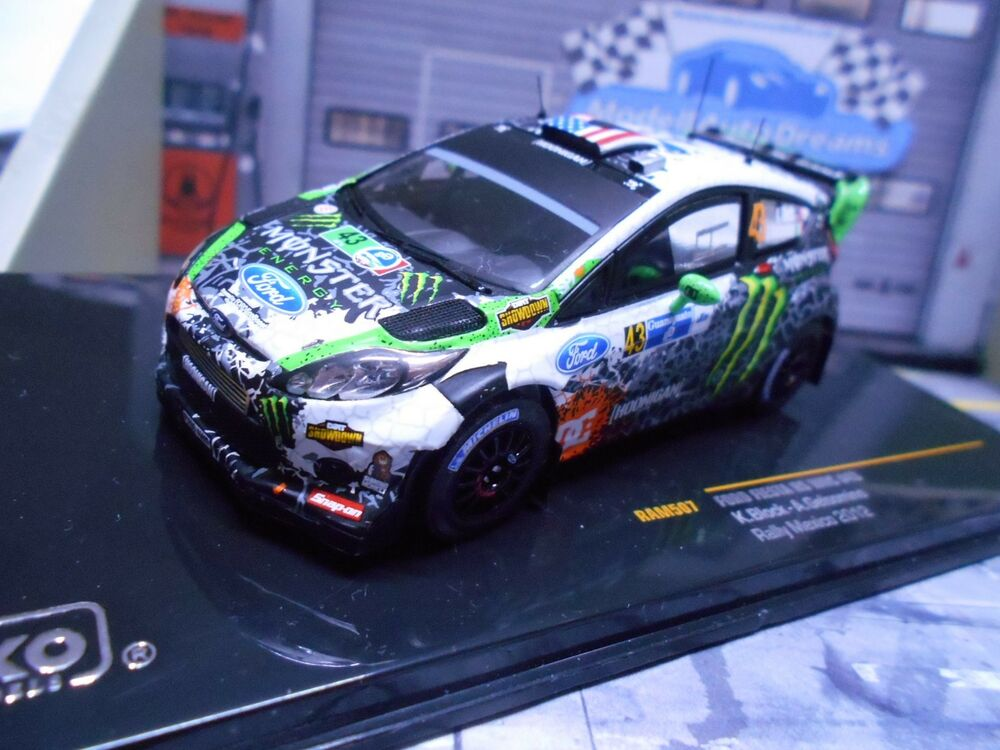 ford fiesta rs wrc rallye mexic 2012 ken block monster. Black Bedroom Furniture Sets. Home Design Ideas