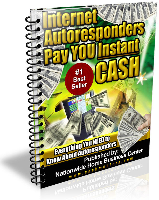 INTERNET AUTORESPONDERS PAY YOU INSTANT CASH PDF EBOOK FREE SHIPPING