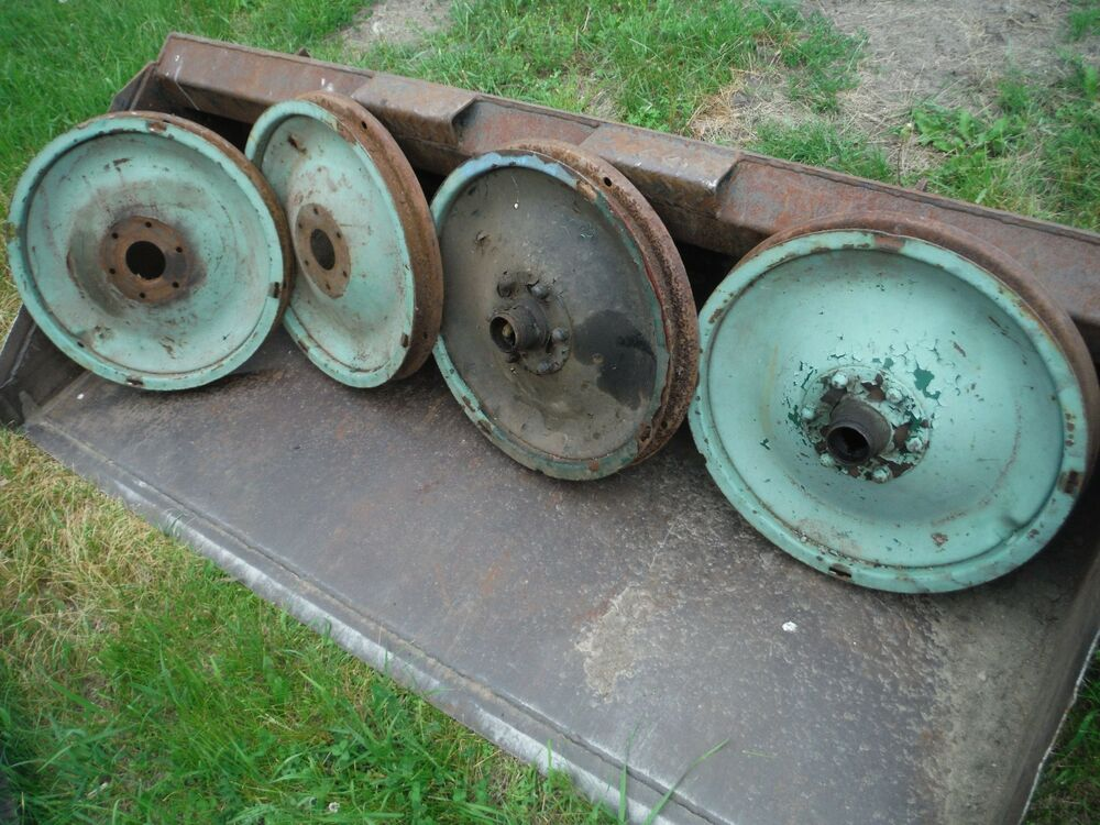 1920 S Chevy 21 Inch Disc Wheels Set Of Four Ebay