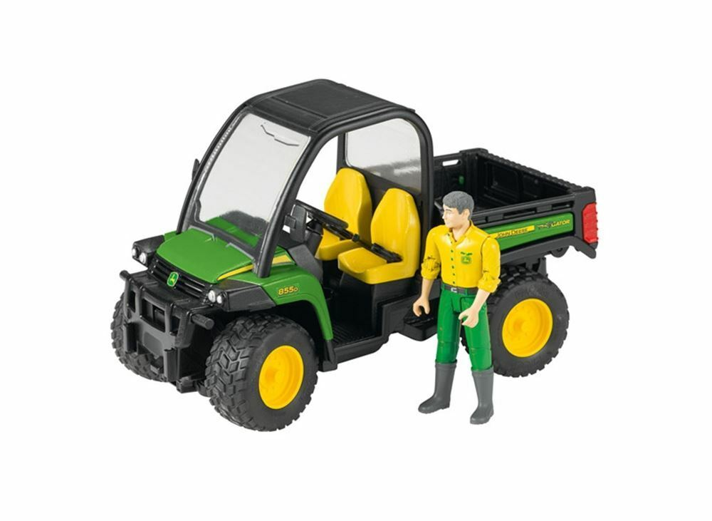john deere gator xuv 855d 4x4 with driver 1 16 scale model. Black Bedroom Furniture Sets. Home Design Ideas