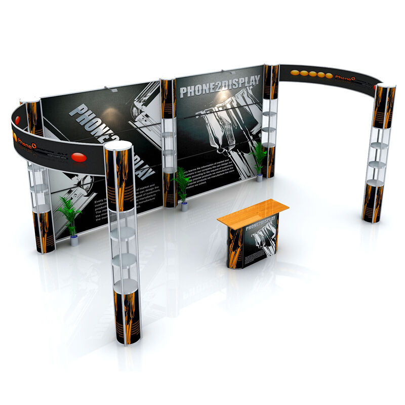 Portable Exhibition Lighting : Ft portable light trade show exhibit display booth
