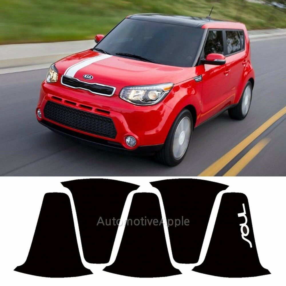 Details About 4 Wheel 18 Changable Color Mask Decal Sticker For 2017 2016 Kia Soul