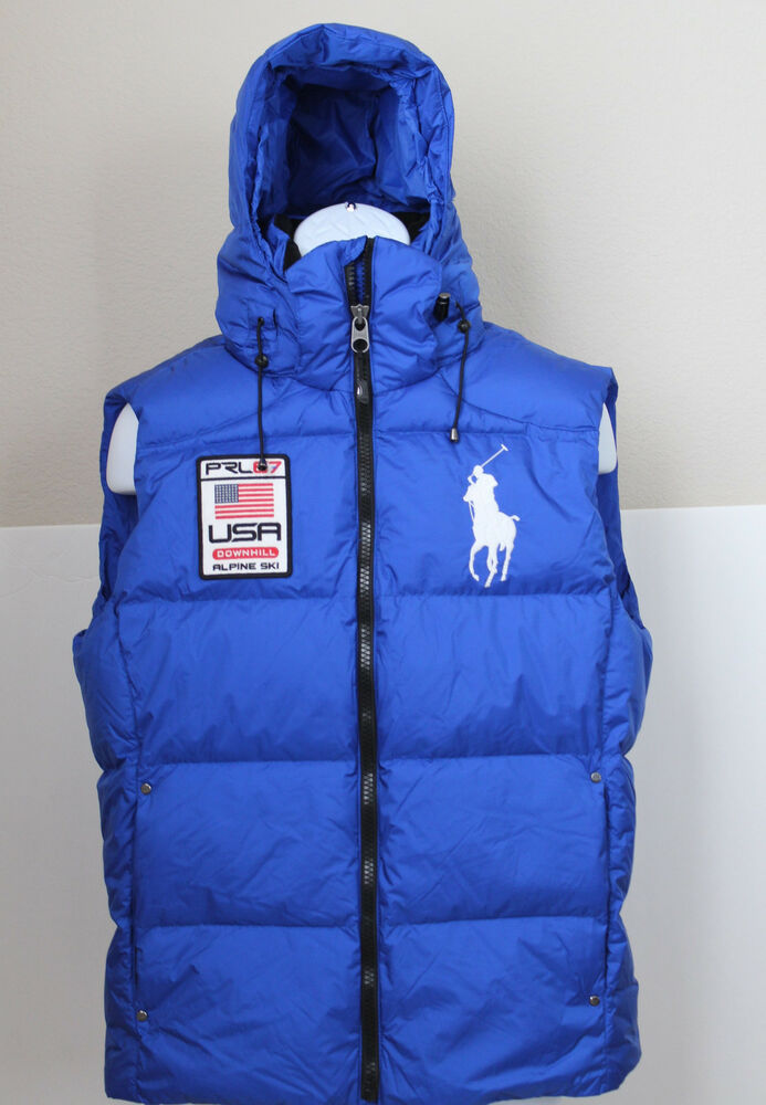 NWT Polo Ralph Lauren Men's Big Pony Down Ski Puffer ...