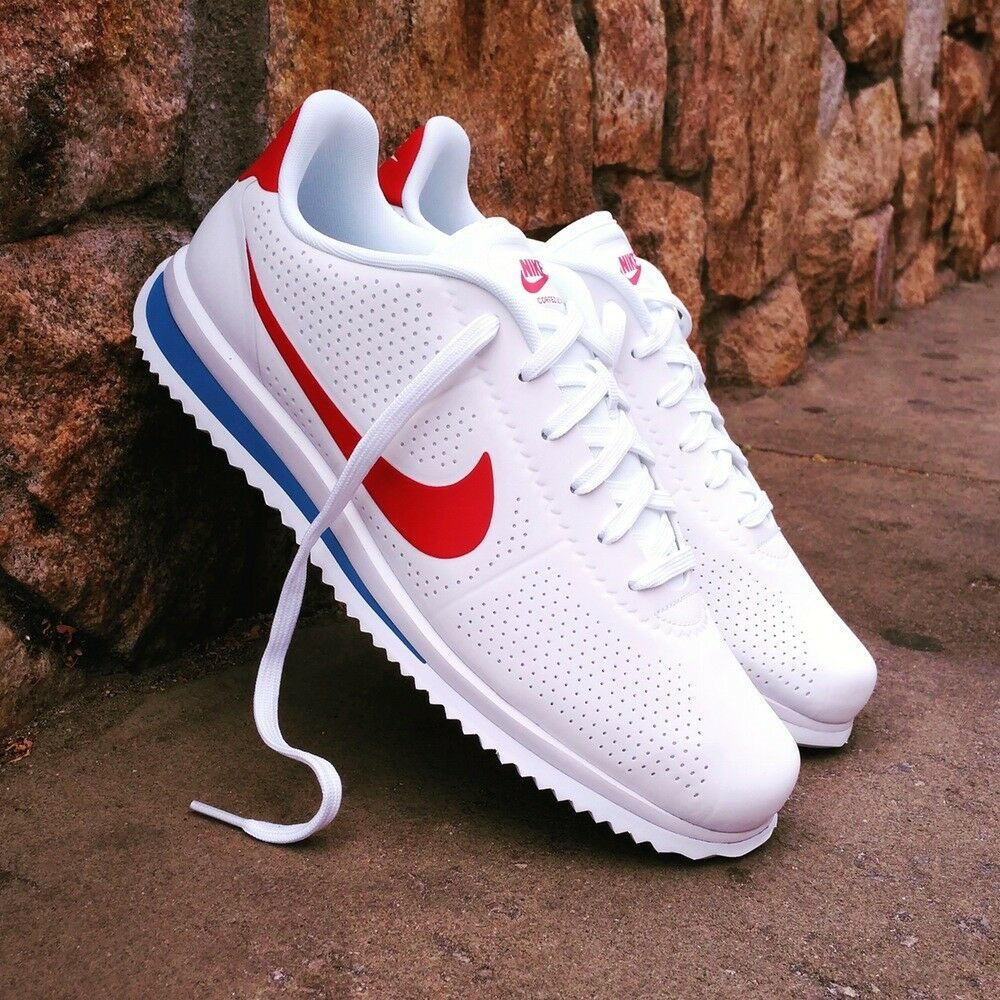 nike cortez ultra moire forrest gump mens shoes white