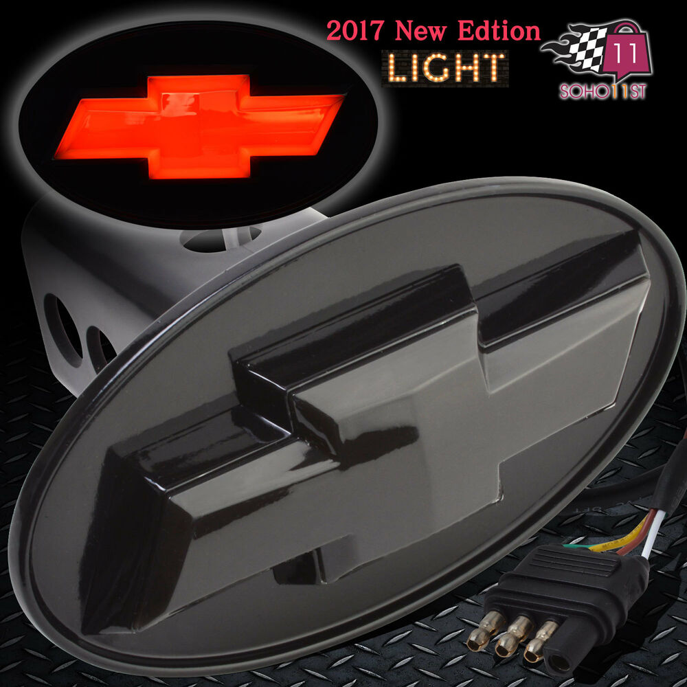 Chevrolet Chevy Licensed Led Light Trailer Towing Hitch