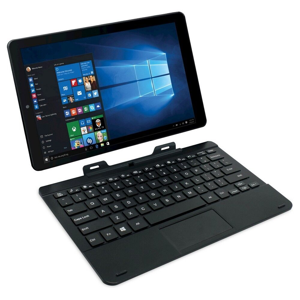rca cambio 2 in 1 tablet with detachable keyboard 11 6. Black Bedroom Furniture Sets. Home Design Ideas
