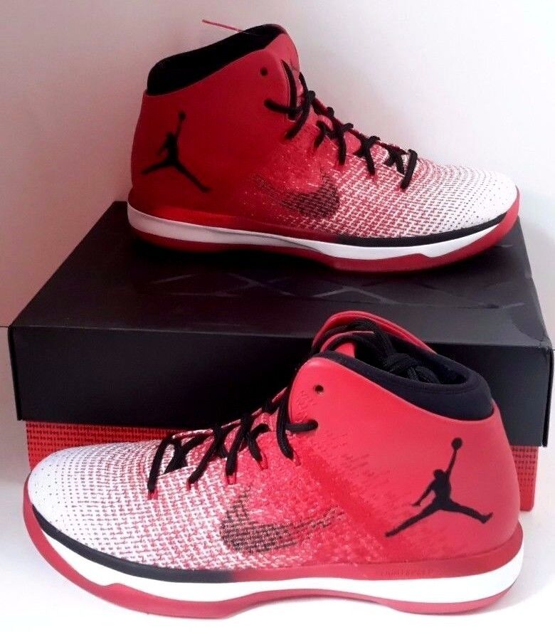 newest 32a80 23ed4 Details about 845037-600 MEN S NIKE AIR JORDAN XXXI 31 BANNED BREDS BLACK    RED-WHITE 11.5 QS