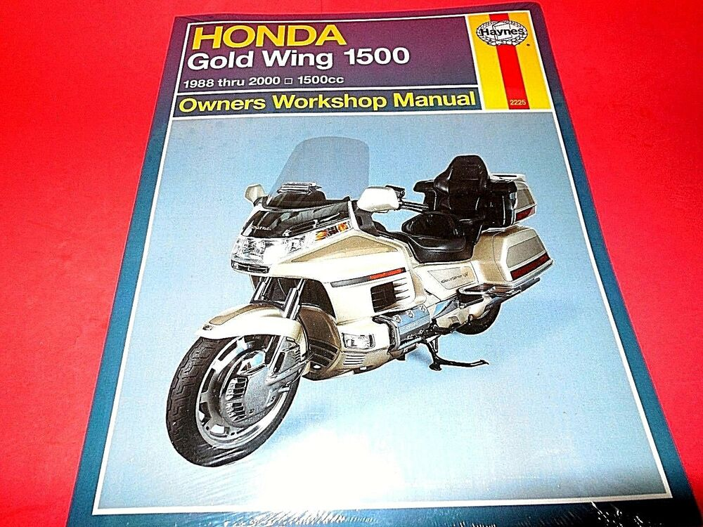 haynes honda gl1500 goldwing repair manual 2225 ebay rh ebay com 1987 Honda Goldwing 1987 Honda Goldwing
