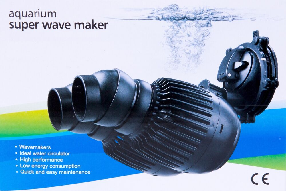 Aquarium fish tank wave maker powerhead pump marine reef for Fish tank wave maker